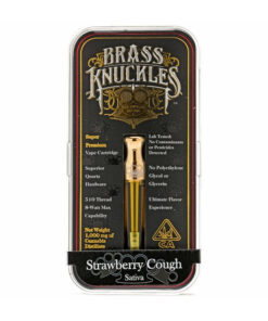 Strawberry Cough Brass Knuckles For Sale