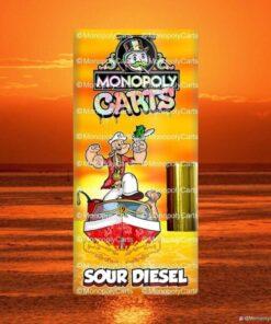 Monopoly carts Sour Diesel